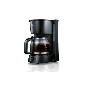 Cafetera eléctrica negra